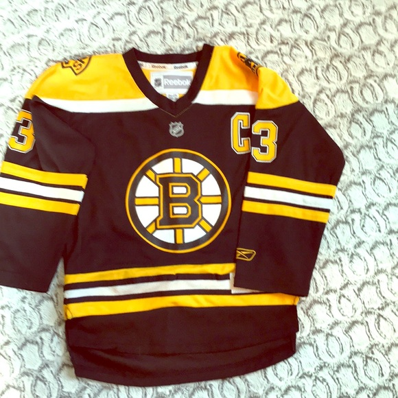 new products 3bebe ff1bb Bruins Reebok Chara Jersey